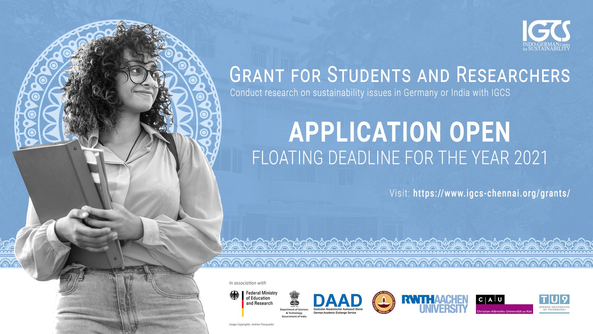 IGCS Student Grant 2021 Announcement